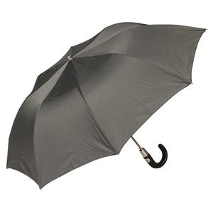 Зонт складной Pasotti Auto Classic Pelle StripesS Grey фото-2