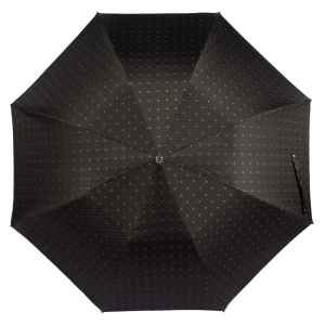 Зонт складной Pasotti Auto Fido Silver Rombo Black фото-3