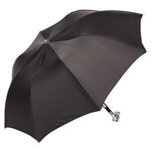 Зонт складной Pasotti Auto Labradore Silver Onda Black фото-2