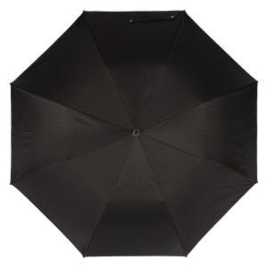 Зонт складной Pasotti Auto Leone Silver StripesS Black фото-2