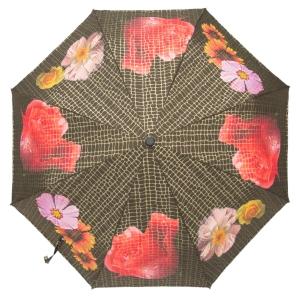 Зонт складной Pasotti Auto Pazzle Black Lux фото-3