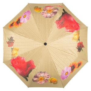 Зонт складной Pasotti Auto Pazzle Sand Lux фото-5