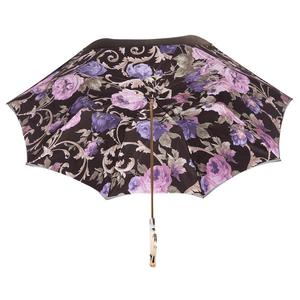 Зонт-трость Pasotti Becolore Beige Palazzo Viola Marble фото-4
