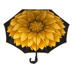 Зонт-трость Pasotti Becolore Georgin Giallo Pelle фото-4