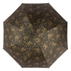 Зонт-трость Pasotti Black Feng Shui Pelle Rombo фото-2