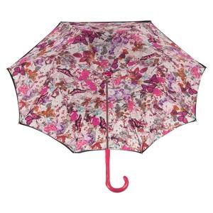 Зонт-трость Pasotti Blu Butterfly Fuxia Original фото-2