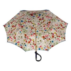 Зонт-трость Pasotti Blu Prato Plastica фото-3