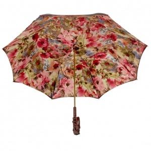 Зонт-трость Pasotti Bordo Pion Pelle фото-3