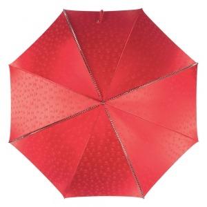 Зонт-трость Pasotti Capo Silver Picco Sculls Rosso фото-2