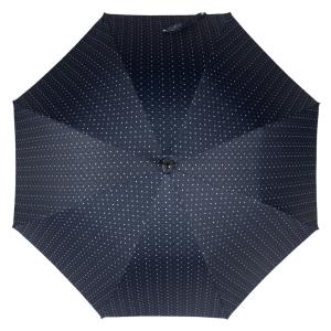Зонт-трость Pasotti Chestnut Maple Dots Blu фото-2
