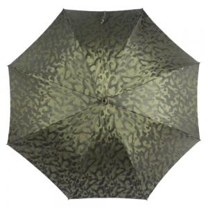 Зонт-трость Pasotti Chestnut Militari Verde  фото-2
