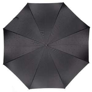 Зонт-трость Pasotti Classic Pelle Comondor Black фото-2