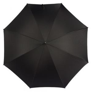 Зонт-трость Pasotti Classic Pelle Niagara Black фото-2