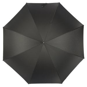 Зонт-трость Pasotti Classic Pelle StripesS Black фото-2