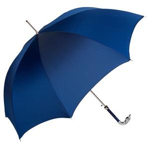 Зонт-трость Pasotti Eagle Silver Oxford Blu фото-4