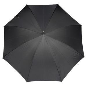Зонт-трость Pasotti Eagle Silver Stripes S Black фото-2