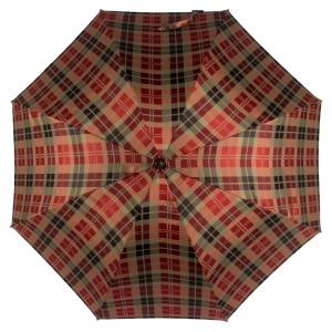 Зонт-трость Pasotti Chestnut Diamond Rosso фото-2