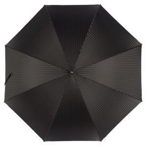 Зонт-трость Pasotti Falcon Silver Rombo Black фото-2