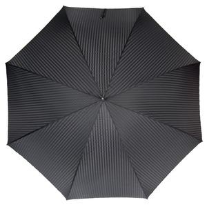 Зонт-трость Pasotti Fido Silver Rombes Black фото-2