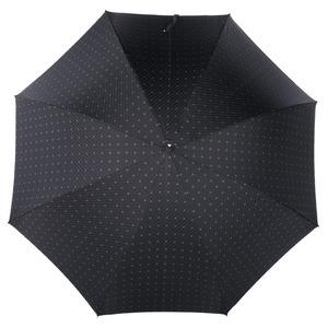 Зонт-трость Pasotti Golf Silver Rombo Black фото-2