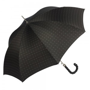 Зонт-трость Pasotti Helix Rombo Black фото-3
