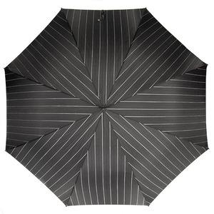 Зонт-трость Pasotti Inox StripesL Black фото-2