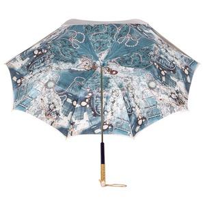 Зонт-трость Pasotti Ivory Biju Perle фото-4