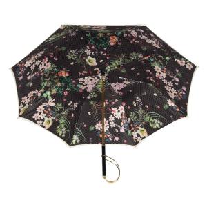 Зонт-трость Pasotti Ivory Dots Flowers Rapira фото-4