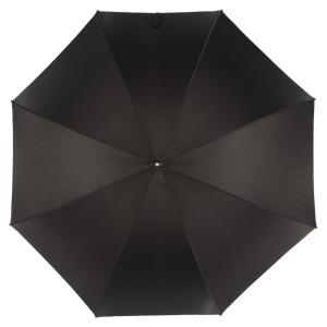 Зонт-трость Pasotti Kostet Silver StripesS Black фото-2