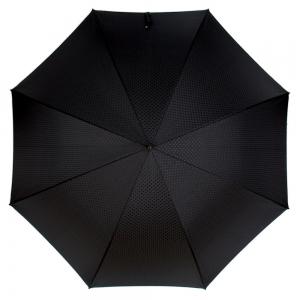 Зонт-трость Pasotti Leone Silver Premium Black фото-2