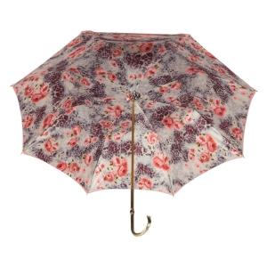 Зонт-трость Pasotti Magenta Wild Rosa Oro фото-3