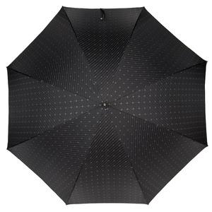 Зонт-трость Pasotti Mocasin Rombo Black фото-2
