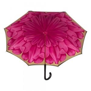 Зонт-трость Pasotti Nero Georgin Rosa Original фото-5