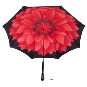 Зонт-трость Pasotti Nero Georgin Rosso Swarovski фото-3