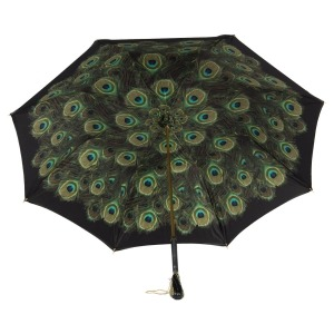 Зонт-трость Pasotti Nero Hawaii Swarovski фото-2
