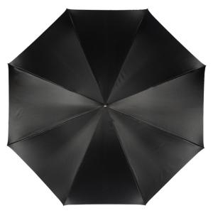 Зонт-трость Pasotti Nero Leaves Capo Black фото-2