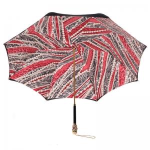 Зонт-трость Pasotti Nero Perls Rosso Botte фото-4