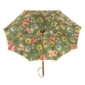 Зонт-трость Pasotti Ohra Flow Verde Rapira Oro фото-3
