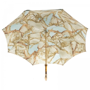 Зонт-трость Pasotti Oliva Rig Horse Oro фото-3