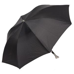Зонт складной Pasotti Auto Owl Silver Codino Black фото-2