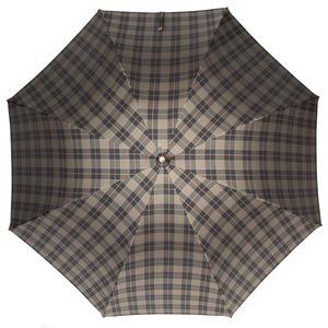 Зонт-трость Pasotti Smocked Hikory Diamond Marrone фото-2