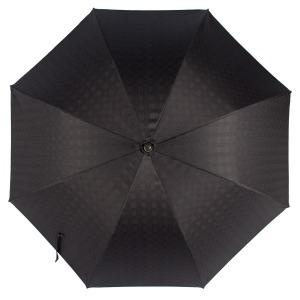 Зонт-трость Pasotti Pelle/Legno Strong Black фото-2