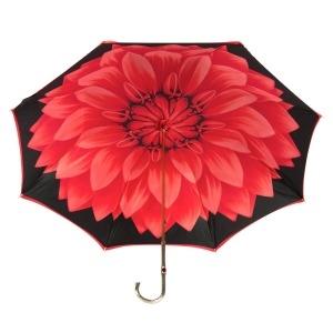 Зонт-трость Pasotti Rosso Georgin Oro  фото-3