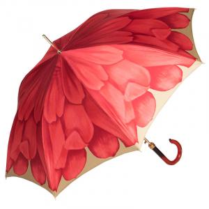 Зонт-трость Pasotti Uno Georgin Koral фото-3