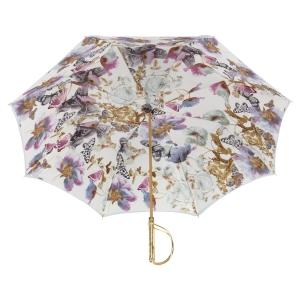 Зонт-трость Pasotti Sky Butterfly Rapira Oro фото-4