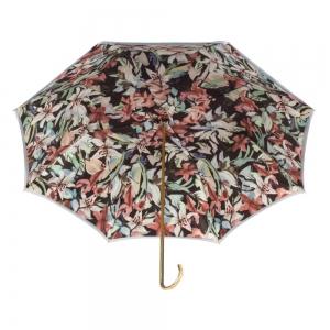 Зонт-трость Pasotti Sky Iris Black Dentell Oro фото-3