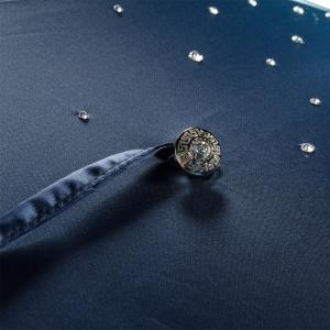 Зонт-трость Pasotti Swarovski Blu Cristall Oro фото-5
