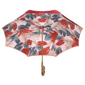 Зонт-трость Pasotti Terracotta Felce Bamboo фото-4