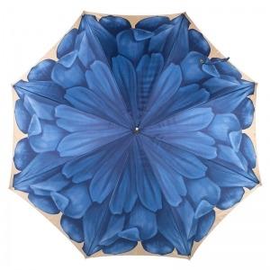 Зонт-трость Pasotti Uno Georgin Blu фото-2