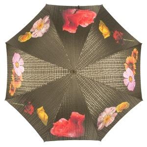 Зонт-трость Pasotti Uno Pazzle Black фото-2